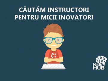 Devino TRAINER la KidsHUB Moldova și contribuie la educarea viitorilor oameni de succes!