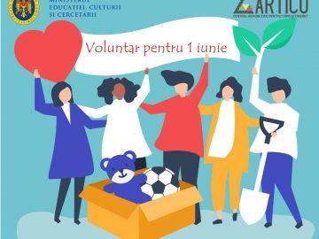 Fii voluntar pe 1 Iunie