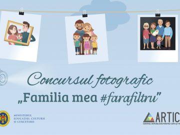 """START VOTING Concursul fotografic """"Familia mea #farafiltru"""""""