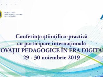 Conferința Inovații Pedagogice în Era Digitală ediția VII