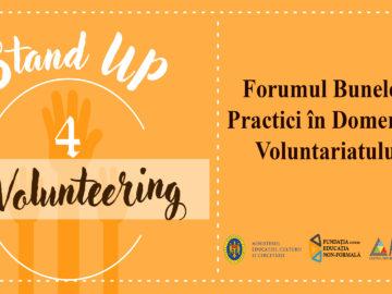 Forumul Bunelor Practici în Domeniul Voluntariatului