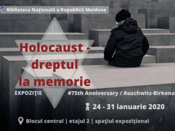 Ziua comemorării victimelor HOLOCAUSTULUI la BNRM