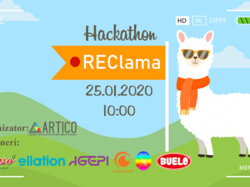 """Participă la preselecția pentru Hackathon-ul """"REClama"""""""