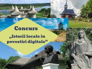 "Concurs republican ""Istorii locale în povestiri digitale"""
