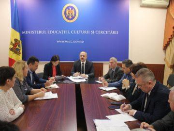 Procesul de reconstrucție a centrelor de excelență este în vizorul Ministrului Educației, Culturii și Cercetării