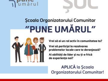 Aplică la Școala Organizatorului Comunitar (ȘOC)