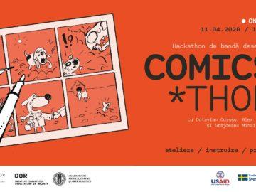 COMICS'thon* – Hackathon de bandă desenată