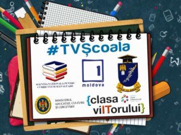 Programul lecţiilor publice pentru clasele a IX-a şi a XII, la Moldova 1