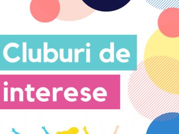 CENTRUL MUNICIPAL DE TINERET CHIȘINĂU TE INVITĂ LA CLUBURI DE INTERESE ONLINE
