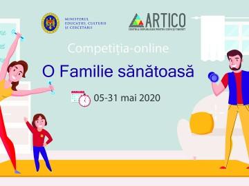 """Competiție-online """"O Familie Sănătoasă"""""""