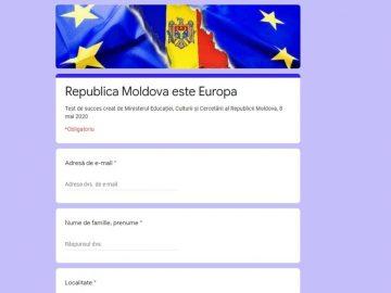 Ministerul Educației, Culturii și Cercetării te provoacă să-ți verifici cunoștințele despre Europa