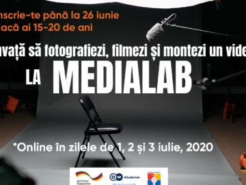 Înscrie-te la Media Lab, învață să creezi un produs foto sau video – participă la Premiul Media pentru Tineri 2020