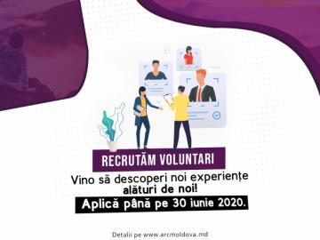 Asociația pentru Relaţii Comunitare recrutează voluntari. Unde și cum te poți înscrie