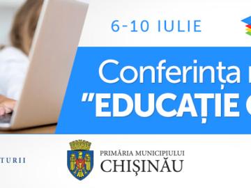 """Conferința națională """"Educație Online"""", 6-10 iulie"""