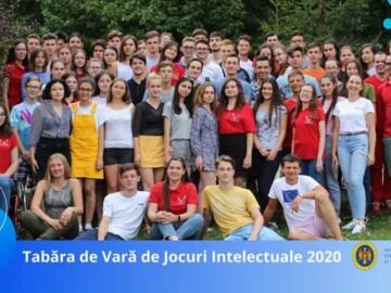 TABĂRA DE VARĂ DE JOCURI INTELECTUALE PENTRU TINERII DE 15 – 20 ANI