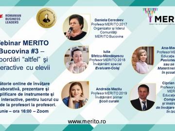 Webinar Merito Bucovina #3