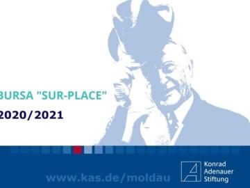 Biroul din Republica Moldova al Fundației Konrad Adenauer anunță deschiderea înscrierilor pentru programul de burse Sur-Place 2020-2021