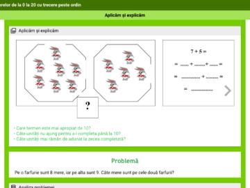 Clasa II. Matematica. Lecție interactivă