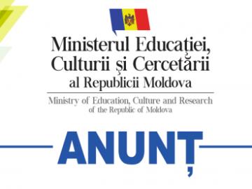 Ministerul Educației, Culturii și Cercetării anunță despre desfășurarea sesiunii suplimentare de atestare a cadrelor didactice și de conducere