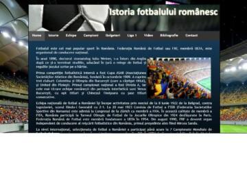 """Clasa V. Educație fizică. Soft educațional """"Istoria fotbalului românesc"""""""