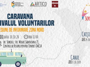 Caravana Festivalul Voluntarilor în vizită la Tine
