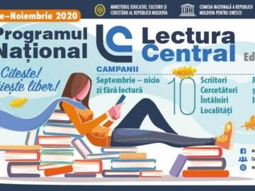 PROGRAMUL NAȚIONAL LECTURACENTRAL, ediția a 3-a, 2020