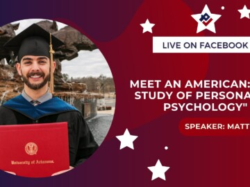 """Meet an American: """"The Study of Personality Psychology"""""""