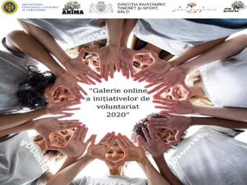 """""""Concurs Galerie online a celor mai ambițioase campanii de voluntariat din 2020"""" ( Săptămâna Națională a Voluntaiatului 2020 ALTFel)"""