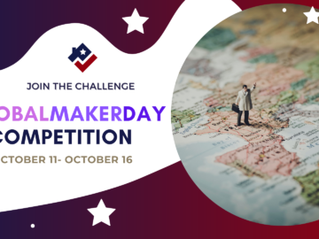 #GlobalMakerDay Competition