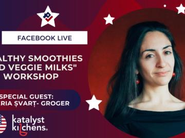 Healthy Smoothies and Veggie Milks Workshop