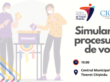Participă la o Simulare a procesului de vot