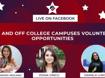 On and Off College Campuses Volunteer Opportunities