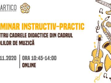 Seminar instructiv – practic în domeniul muzical