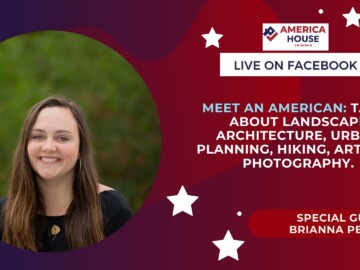 Meet an American: Talks about Landscape Architecture, Urban Planning, Hiking, Art, and photography.