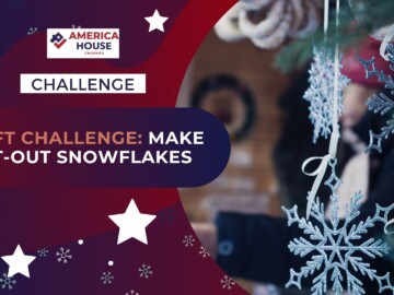 Craft Challenge: Make Cut-Out Snowflakes