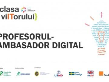 """Centrul Clasa Viitorului anunță Concursul Național """"Profesorul – Ambasador Digital"""""""