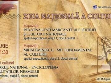 Ziua Culturii Naționale la BNRM