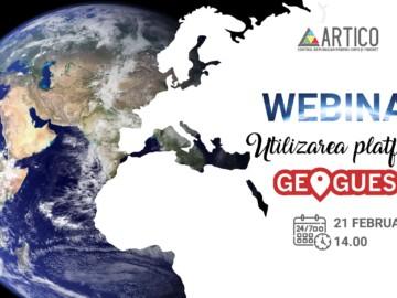 "Webinar ""Utilizarea platformei GeoGuessr"""