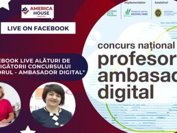 """Câștigătorii Concursului """"Profesorul – Ambasador Digital""""-impresii, sfaturi, experiențe"""