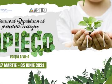 """Concursul Republican al proiectelor ecologice """"UP!Eco"""", ediția a VII-a"""