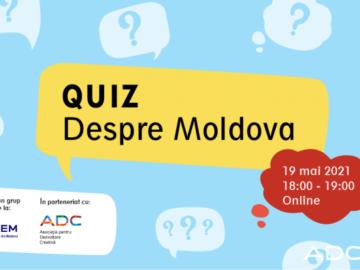 """Quiz-ul """"Despre Moldova"""""""