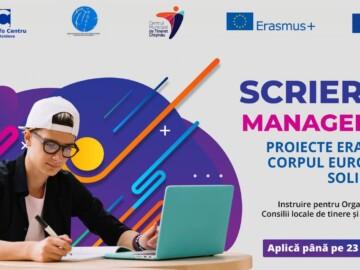 Program de instruire pentru ONG-urile de tineret, Centrele de Tineret, Consiliile Locale de Tineret privind Erasmus+ Tineret și Corpul European de Solidaritate