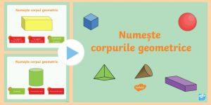 corpurile geometrice pentru lecția de matematică