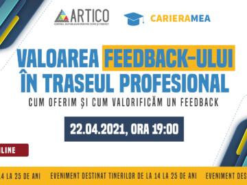 Soft Skills 4 Career. Valoarea feedback-ului în traseul profesional