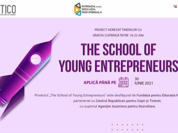"Tabăra de vară ""The School of Young Entrepreneurs"""