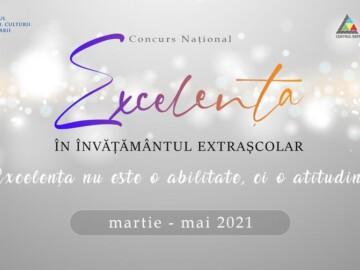 """Concursul Național """"Excelență în învățământul extrașcolar"""""""