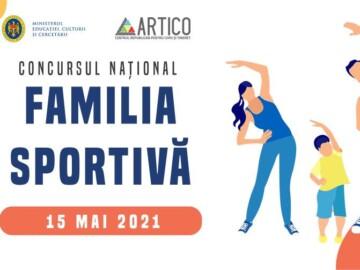 """Concursul Național """"Familia Sportivă"""""""
