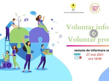 Voluntar informat = Voluntar protejat