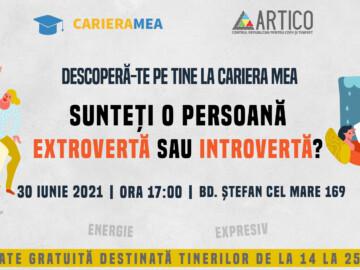 Descoperă-te pe tine la Cariera Mea – Ești introvert sau extrovert