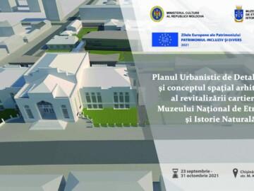 """Zilele Europene ale Patrimoniului, cu genericul  """"Patrimoniul incluziv și divers"""" la Muzeul Național de Etnografie și Istorie Naturală"""